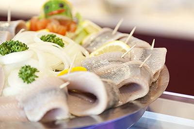Leckere Fischbrötchen zum Frühstück
